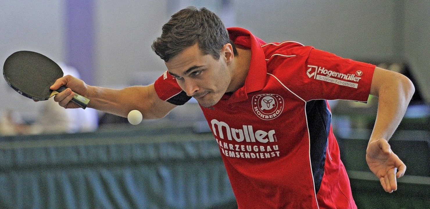 Jonas Degen und die Hohberger Tischten...runde in der Regionalliga bestreiten.     Foto: Pressebüro  Schaller