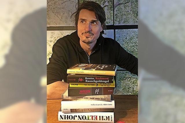 Marc Hofmann – ein Tag Chef im Buchladen