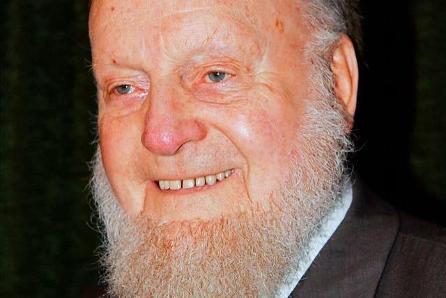 Der älteste Mann in Merzhausen, Otto Widemann, feiert seinen 100. Geburtstag