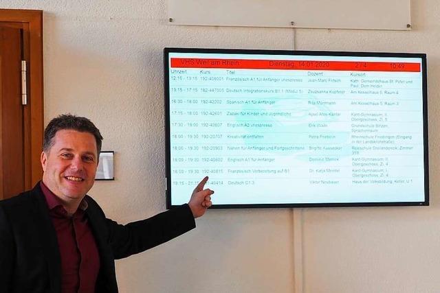 Trotz Teil-Lockdown bleiben in Weil am Rhein Musikschule und VHS offen