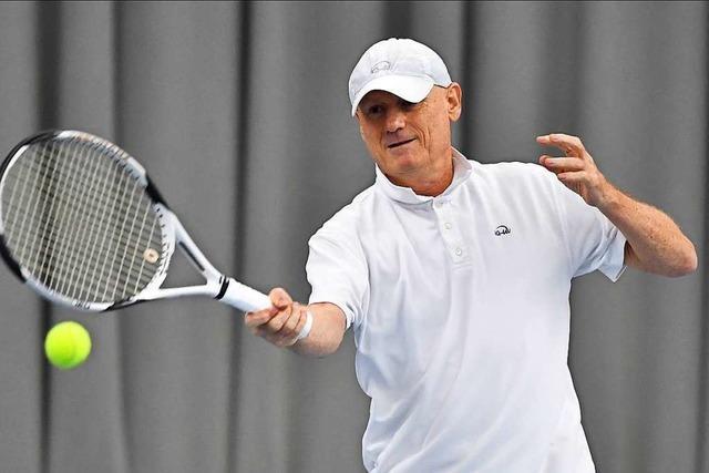 Joachim Dufner vom Freiburger TC zählt zur Weltspitze der Senioren