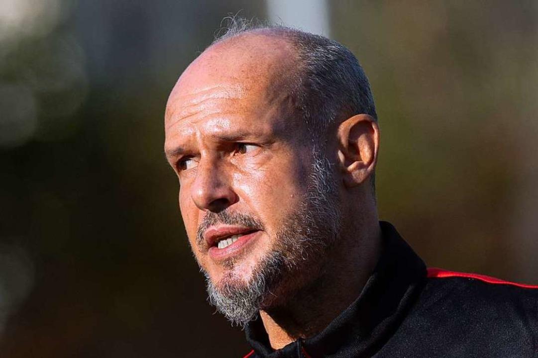 Trainer Jörg Klausmann spielt mit dem ...all-Landesliga bisher eine gute Runde.  | Foto: Wolfgang Scheu