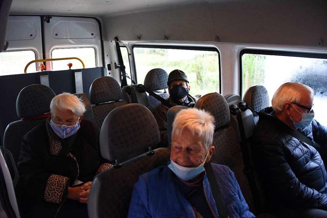 Unterwegs mit der Tagespflege    Foto: Robert Bergmann