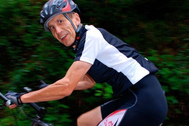 Wolfgang Grethler geht bei seinem Sport an die körperlichen Grenzen