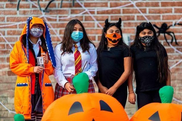 In Schopfheim gibt es Netz-Zoff um Halloween-Kids und Corona