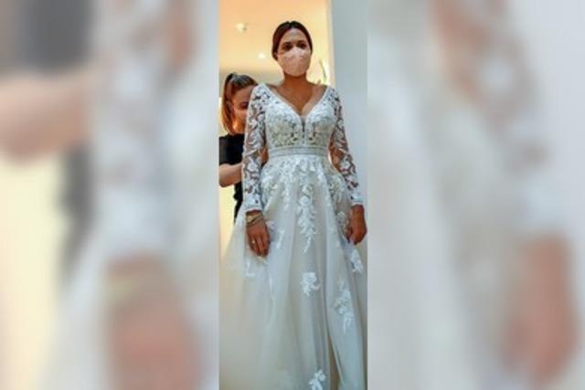 Weißes Hochzeitskleid? Von wegen!