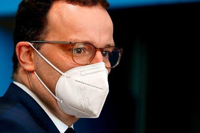 Spahn: Kliniken und Labore sollen vor Engpässen geschützt werden