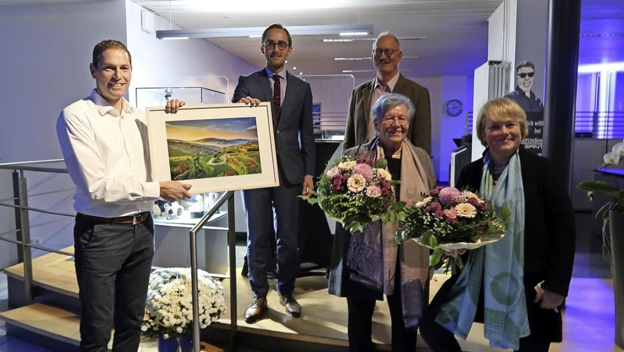 Vogtsburgs Bürgermeister Benjamin Bohn...olge eine  gute Lösung gefunden wurde.  | Foto: Christine Weirich