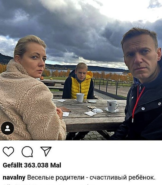 <ppp> </ppp>und mit Familie  am Schluchsee.  | Foto: Screenshot Instagram