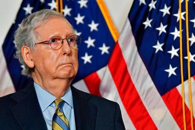 Mehrheitsführer der Republikaner im Senat verteidigt seinen Sitz