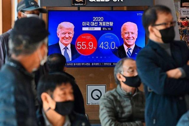 Trump hat in vielen umkämpften Bundesstaaten die Nase vorn – Rennen weiter offen