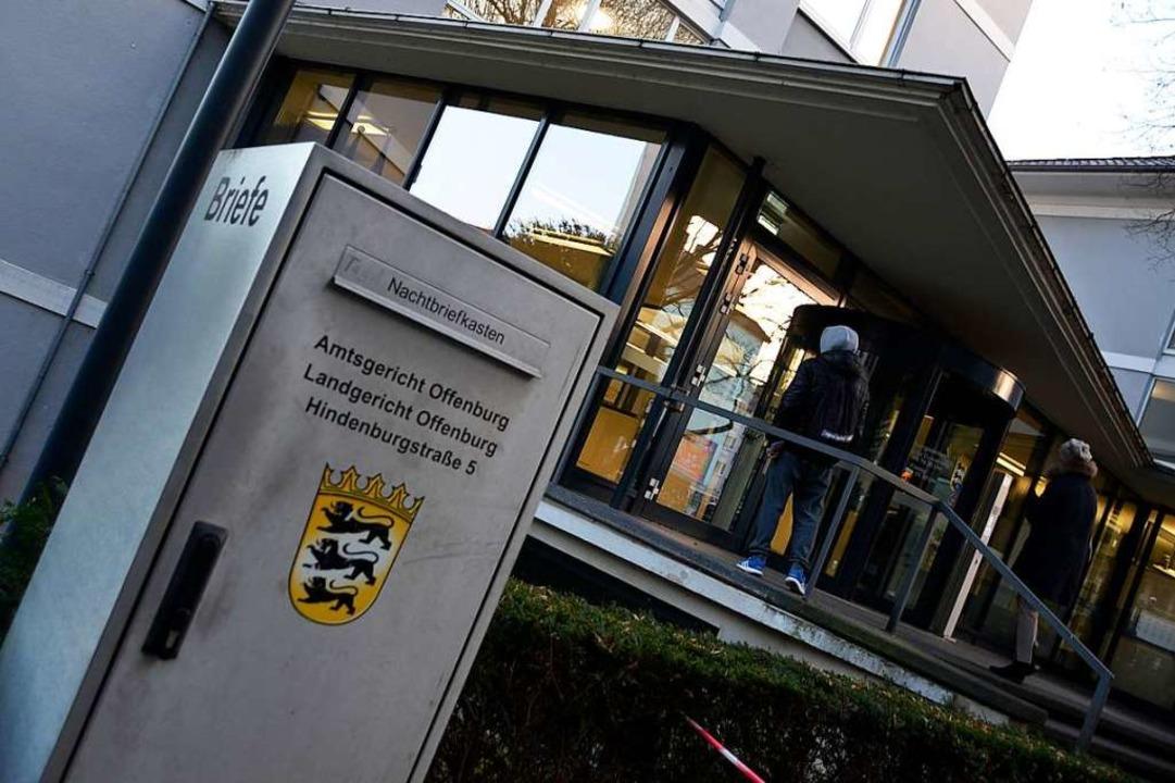Um einen Mordversuch mit einem Akkuboh...m  Landgericht Offenburg (Archivbild).  | Foto: hrö