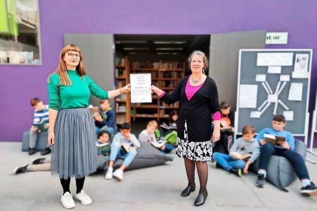 Max-Planck-Gymnasium Lahr belegt Platz zwei beim Deutschen Lesepreis