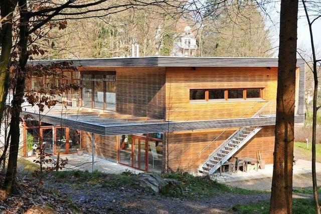 Für den Neubau des Freiburger Forstamts werden Bäume gefällt
