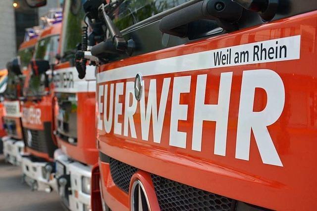 Gasleitung bei Grabarbeiten in Weil am Rhein beschädigt