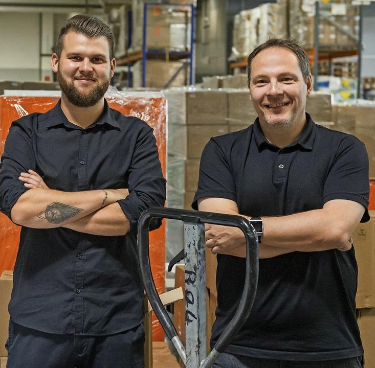 Gründer mit Visionen: Markus Kern (rechts) und Dennis Sobczyk  | Foto: Daniel Schoenen
