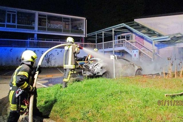 Brandstiftung, Körperverletzung und Diebstahl in Riegel