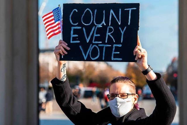Wird die US-Präsidentschaftswahl am Ende von den Gerichten entschieden?