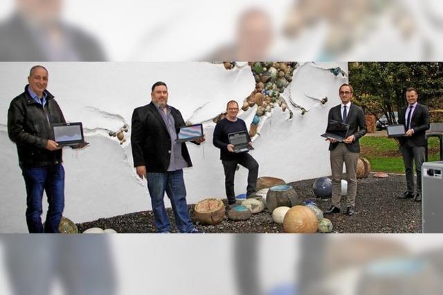 70 000 Euro für digitale Ausstattung der Wilhelm-Hildenbrand-Schule