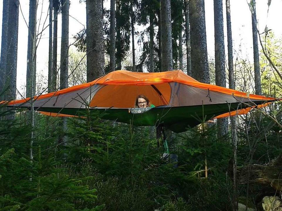 Hier gibt es etwas zu erleben, zum Beispiel im Baumzelt.  | Foto: Original Landreisen AG