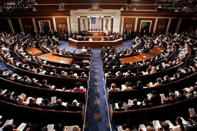 Demokraten verteidigen Repräsentantenhaus, Republikaner halten wohl den Senat