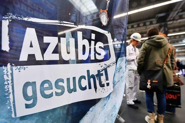 Zahl der Azubi-Verträge ist rückläufig, langfristig aber stabil