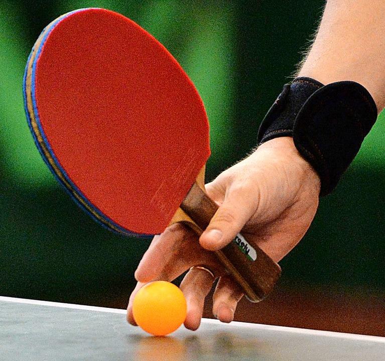 """""""Einstufung als Individualsport&... dieselben Bestimmungen wie im Tennis.    Foto: Patrick Seeger"""