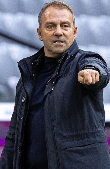Startet mit viel Rückenwind ins zweite Jahr als Bayern-Coach: Hansi Flick  | Foto: Matthias Balk (dpa)