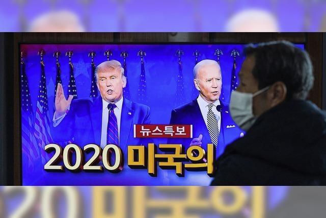 USA zählen und warten auf Ergebnis