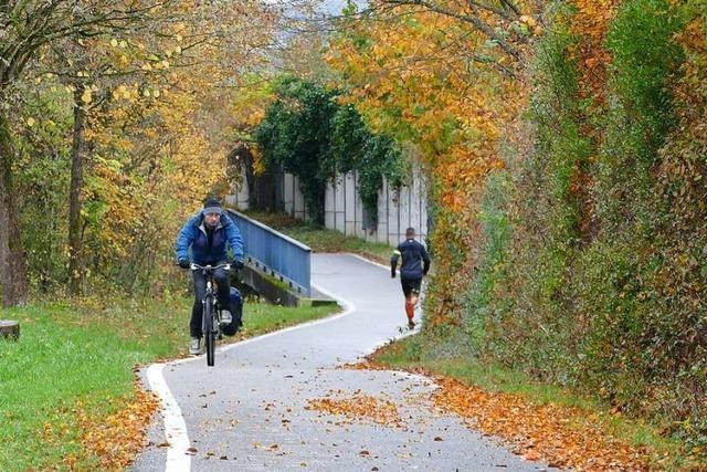 Auf die Lörracher Radweg-Pläne gibt es ein gemischtes Echo
