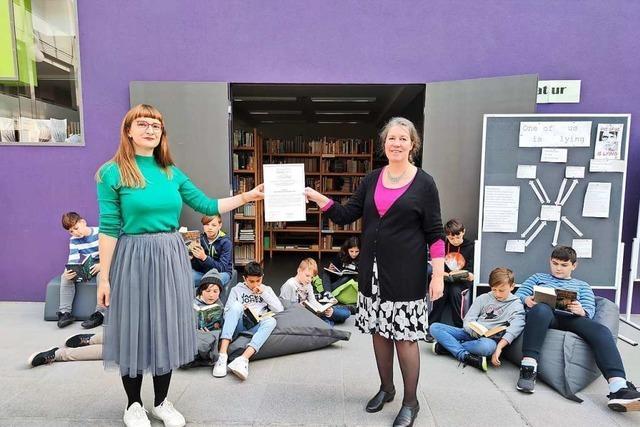 Max-Planck-Gymnasium in Lahr schafft beim Lesepreis einen zweiten Preis