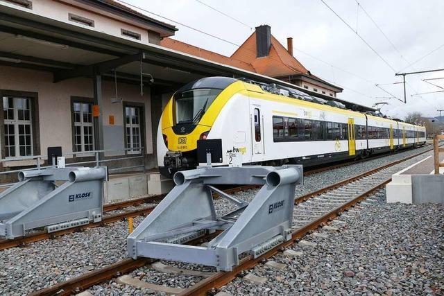 Studie zeigt, dass viele Menschen die Zugstrecke Breisach-Colmar nutzen würden