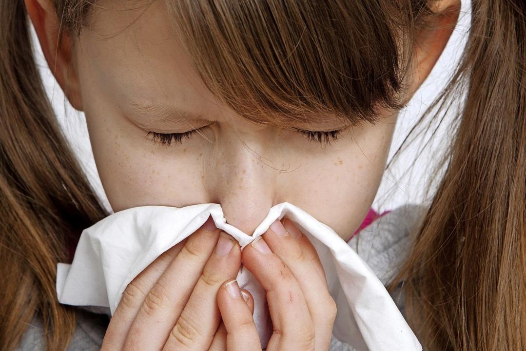 Nur wenn Schüler stark erkältet sind o...ollten sie dem Unterricht fernbleiben.  | Foto: Silvia Marks