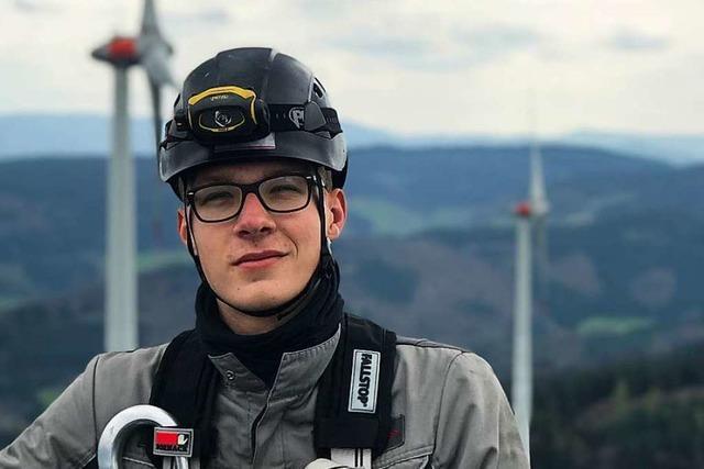 Der Elektroniker Marcel Held ist Kammer- und Landessieger