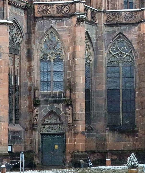 Das Marienportal auf der Südseite des Münsters    Foto: Andreas Schedlbauer/Muensterbauverein