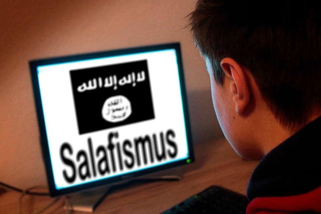 Das Internet ist für viele junge Muslime ein Einfallstor in den radikalen Islam.    Foto: Ralph Peters/picture alliance