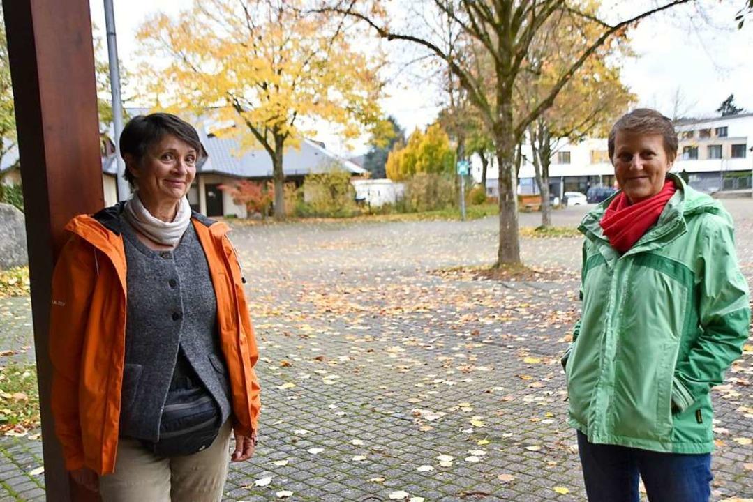 Anette Blüthgen (links) und Regina Frey von der AG Ernährung und Konsum.  | Foto: Horatio Gollin