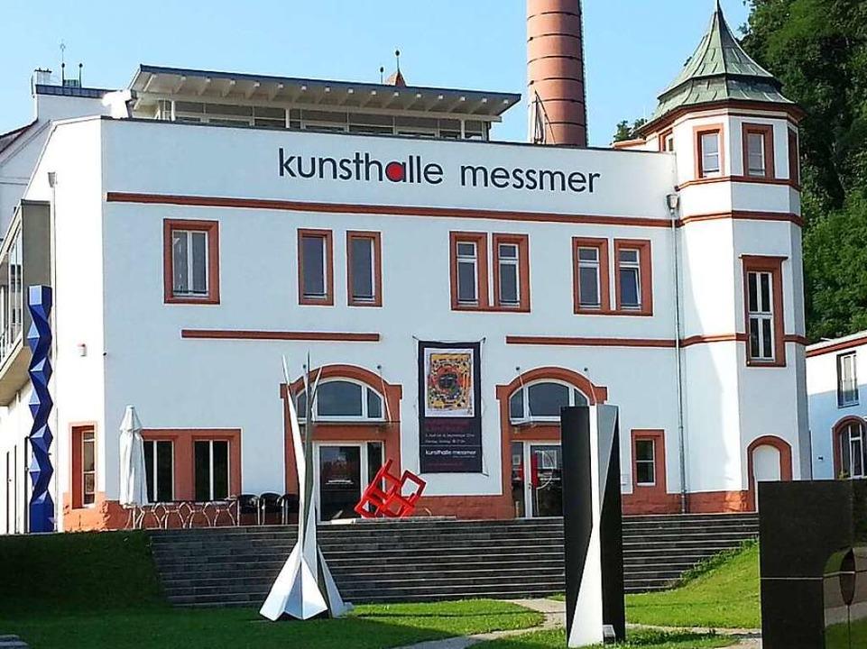Kunst in der ehemaligen Brauerei: die Kunsthalle Messmer  | Foto: Martin Wendel