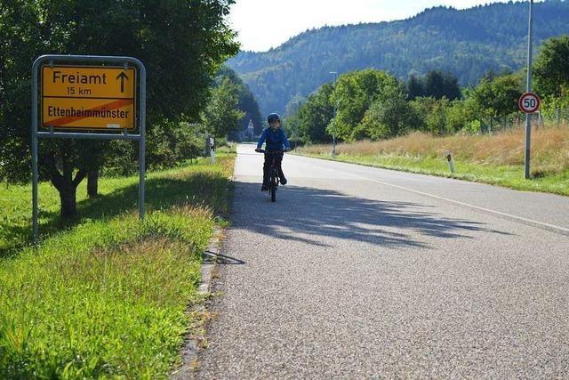Lösung für den Radweg zwischen Münchweier und Ettenheimmünster