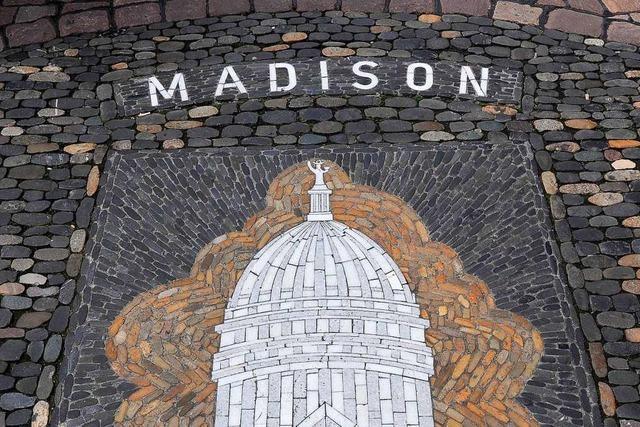 Freiburgs Partnerstadt Madison wählt Joe Biden – zu 75 Prozent