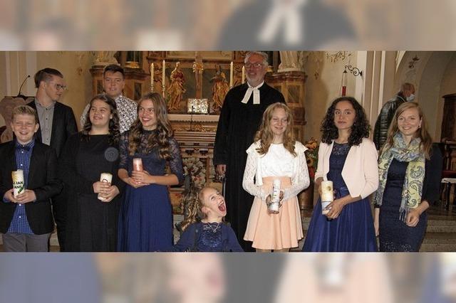 Konfirmation in der Paul-Gerhardt-Gemeinde Kollnau