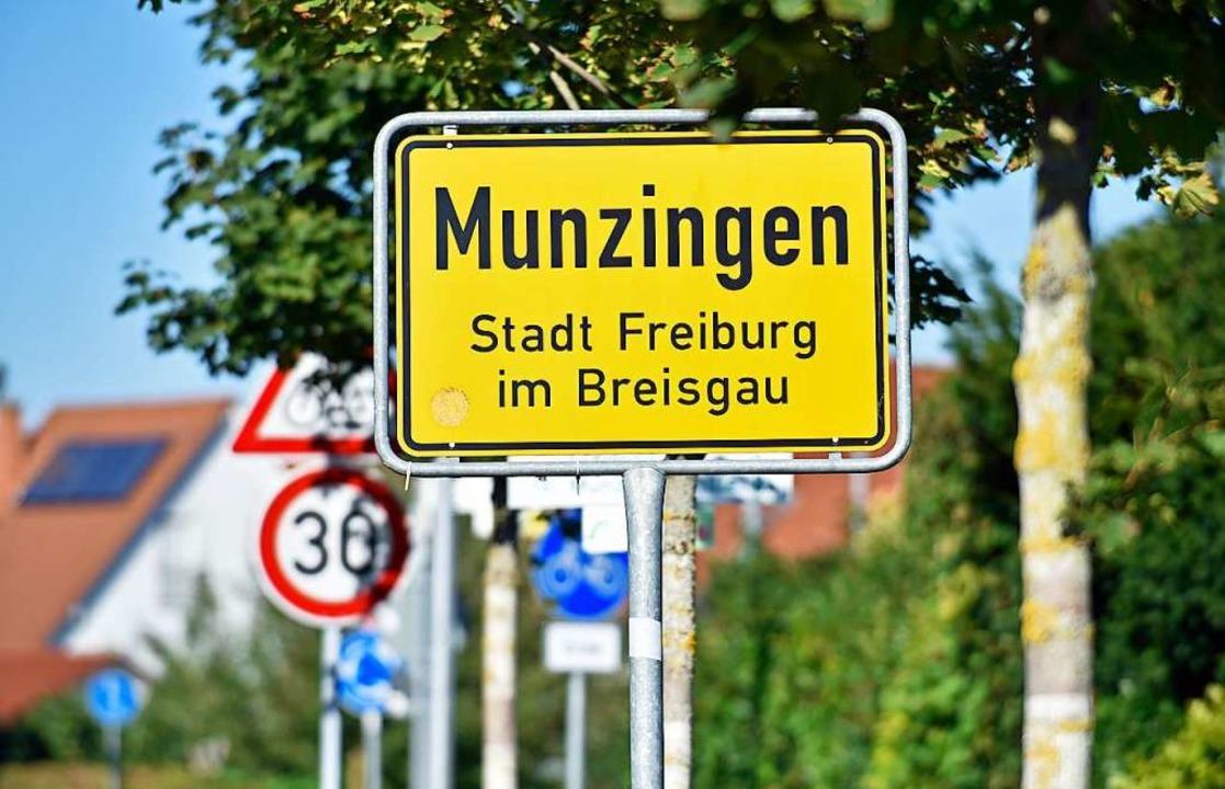 In Munzingen stehen nur noch 7000 Quad... weitere Gewerbeflächen zur Verfügung.  | Foto: Michael Bamberger