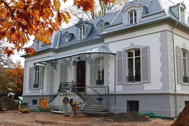 Sanierung der Villa Aichele in Lörrach ist abgeschlossen
