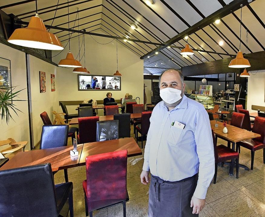 Seit Mitte Oktober war Elvedin Mahic&#... musste er  erstmal wieder schließen.     Foto: Michael Bamberger