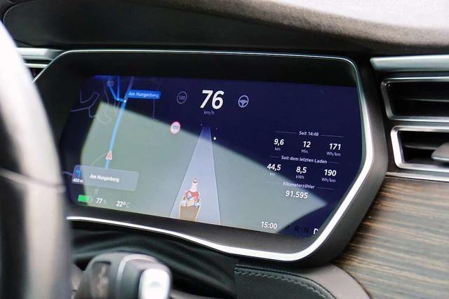 In 4,5 Sekunden auf 100 km/h – so fühlt sich eine Fahrt im Tesla an