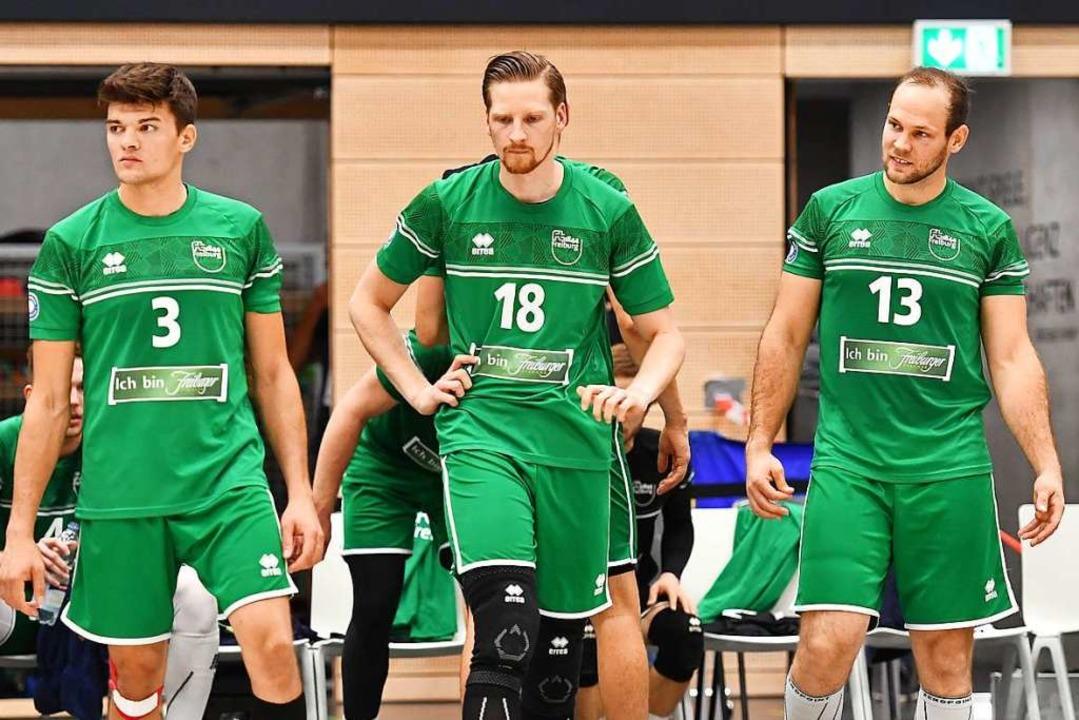 Konzentriert und selbstbewusst müssen ...Volleys Gotha etwas ausrichten wollen.  | Foto: Achim Keller