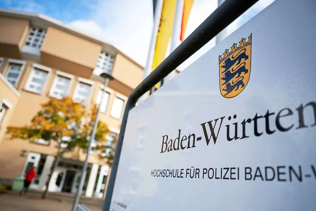 Die Landes-Hochschule für Polizei hat ihren Sitz in Villingen-Schwenningen.  | Foto: Marijan Murat (dpa)