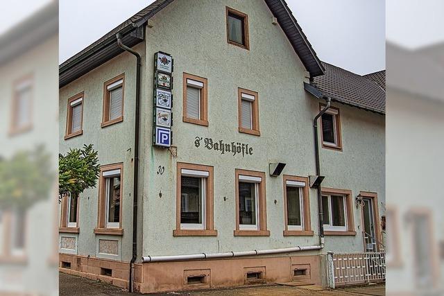 Bahnhöfle in Ringsheim soll wieder eröffnen