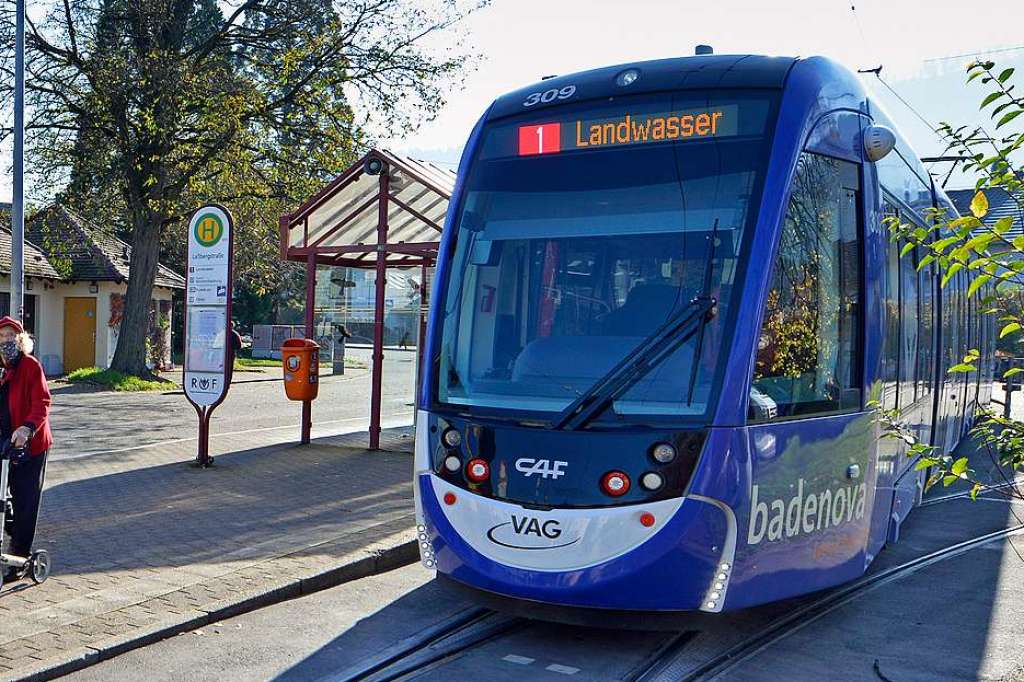 Startschuss für Ausbauoffensive: Straßenbahnlinie 1 wird bis 2026 verlängert - Freiburg - Badische Zeitung