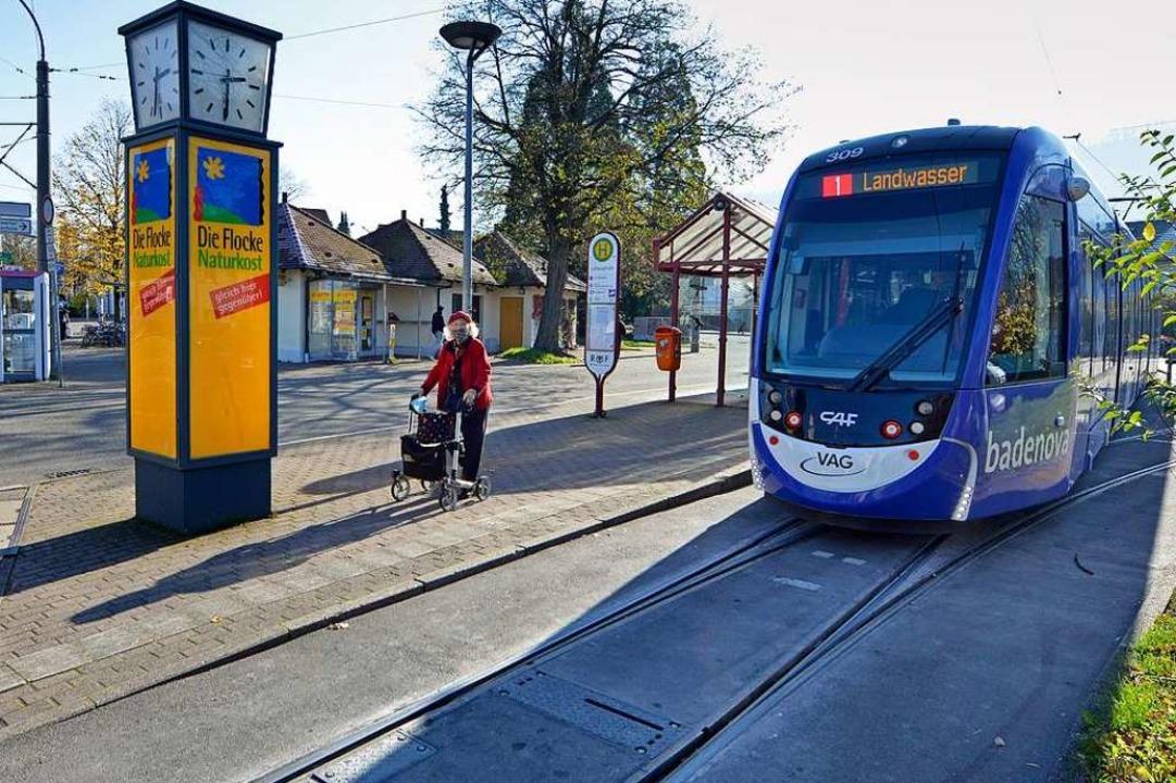 Im Zug der Verlängerung der Stadtbahn ...gstraße barrierefrei umgebaut  werden.  | Foto: Michael Bamberger